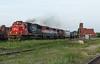 Last Light on 399 (Joseph Bishop) Tags: cn 5484 emd sd60 cndundassubdivision brantford trains train track tracks railfan railroad railway rail rails
