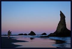 Shooting Dawn's Light (jk walser) Tags: bandonbeach beach dawn fujixt2 jkwalser oregon pacificocean participants workshop coast ocean seastacks sunrise