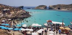 Blue Lagoon, Malta (Daniel Kliza) Tags: malta maltese marsascala marsaskala valletta lavalletta island sea bluelagoon blue lagoon mediterranean british italian spritz aperol boat cruise citybreak city sightseeing