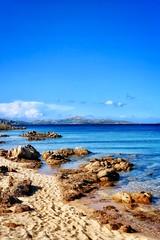 Spiaggia Li Piscini, Arzachena, Sardinia, Italy (Massimo Virgilio - Metapolitica) Tags: blu sky nature italy sardinia arzachena lipiscini sea beach