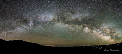 Sonora Pass Pano- (Lubeck Photography) Tags: sonorapass hwy108 milyway pano night stars astrophography