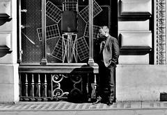 Renewable Energy (jaykay72.) Tags: london uk street candid streetphotography cornhill stphotographia blackandwhite bw