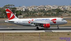 OK-MEL LMML 12-06-2018 (Burmarrad (Mark) Camenzuli Thank you for the 12.2) Tags: airline csa czech airlines aircraft airbus a319112 registration okmel cn 3094 lmml 12062018