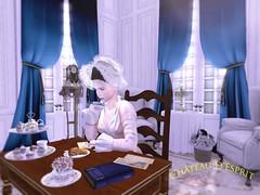 Rococo Vérène AD (Sofia ~Chateau D'Esprit~) Tags: cde rococo verene cap versailles vsl sl secondlife roleplay ad vendor