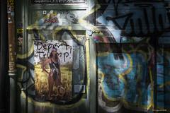 Cry of the Powerless (Robert Lejeune) Tags: powerlessness despair trump deport streetphotography urbanlandscape
