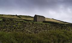 Barn (l4ts) Tags: landscape derbyshire peakdistrict darkpeak fieldbarn drystonewalls ecclespike whaleybridge ecclesroad