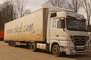 Mercedes-Benz Actros MP3 E5 1841 Megaspace - Ekol Logistics 4.0 Istanbul, Turkey