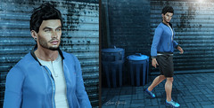 NEW POST 447 (Blogger & Owner of p.o.s.e.) Tags: exile adclothing dufaux versov tmd