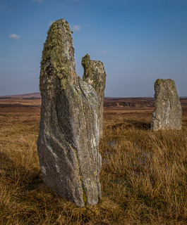 The Standing Stones of Ceann Hulavig