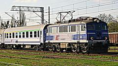 EU07-377, Strzelce Opolskie, 14.04.2018 (Marcin Kapica ...) Tags: eu07 pkp ic kolej lokomotive locomotive bahn railway train
