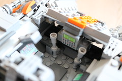 Pilot section (Cpt. Ammogeddon) Tags: star wars movie hith snow speeder vehicle space battle ship fan science fiction toy lego moc custom