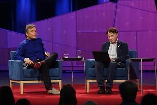 Ray Kurzweil unveiling Talk To Books