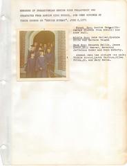 Senior Sunday 1971 (mwlinford) Tags: royal oak presbyterian church marion virginia smythcounty