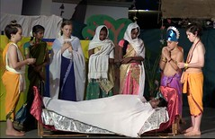 Tamil_NY_58 (Manohar_Auroville) Tags: tamil auroville new year puthanthu ramayana transition students girls theatre tamilbeauty tamilgirl manohar luigi fedele india