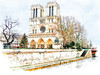 Notre Dame Paris (seen in explore) (Palmsgb) Tags: notredame fractaliusphotoshop