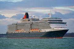 QUEEN VICTORIA (Ugborough Exile) Tags: qv ships sony southampton calshot hampshire hants england uk a6300 2018