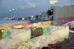 the waste land (barneymcgrew) Tags: margate wiggle multiple exposure