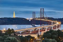 Lisboa, Portugal (Joao Eduardo Figueiredo) Tags: lisboa portugal april25th bridge christ king christtheking monument ponte 25abril cristo rei cristorei river tagus rio tejo water nikon nikond850 joaofigueiredo joaoeduardofigueiredo