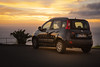 at the end of wonderful day (100er) Tags: madeira sunset sonnenuntergang meer auto fiat panda
