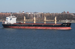 SPAR TAURUS in New York, USA. March, 2018 (Tom Turner - NYC) Tags: waterway channel narrows vessel fort wadsworth bay fortwadsworth cargo bulker tomturner spot spotting statenisland newyork unitedstates bigapple usa nyc marine maritime pony port harbor harbour transport transportation spartaurus