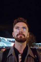 2017-09-24-0017 (newmandrew_online) Tags: man film filmisnotdead filmphotografy night face 35mm canon eos minsk belarus lomography lomo color portrait street