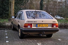1984 Opel Ascona CC 1.6 S Touring (NielsdeWit) Tags: nielsdewit 81zlsx opel ascona c cc 16s 16 s touring actiemodel ede