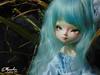 Ellyandrie_58 (zeroyo yasu) Tags: bleu yosd sunny leeke cerf dentelles jardin doll bjd