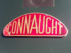 190 Connaught Engineering Badge - History (robertknight16) Tags: connaught british racing racingcar badge badges automobilia silverstone vscc send