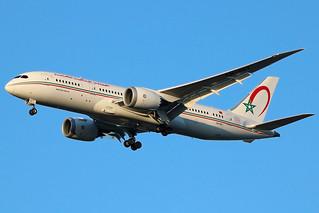 CN-RGT | Boeing 787-8 Dreamliner | Royal Air Maroc (w/60 years anniversary logo)