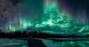 Camping under the heavens (Traylor Photography) Tags: alaska camping wasilla toddsalat auroraborealis amazing palmer spring panorama butte northernlights knikriver unitedstates us