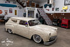 Custom VW Squareback (Eric Arnold Photography) Tags: vw volkswagen type3 square squareback wagen wagon panel ob obcustoms custom low rider lowrider lowered car automotive magazine feature indoor indoors type iii