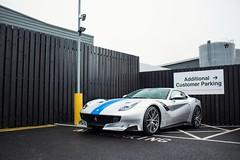Historic livery goodness. (TJHarrington) Tags: ferrari f12tdf grigio azzuro historiclivery 1of799 graypaulnottingham nottingham car supercar hypercar silver blue