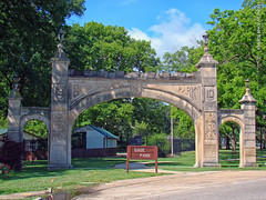 Gage Park Archway, 30 June 2017 (photography.by.ROEVER) Tags: kansas topeka shawneecounty park gagepark archway gageparkarchway 2017 june june2017 usa
