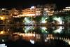 Voulismeni Lake (Wackelaugen) Tags: agiosnikolaos voulismeni lake reflection water greek night canon eos photo photography wackelaugen crete greece stephan