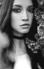 Surrounded In Lilacs (ClvvssyPhotography) Tags: lilacs person people woman beauty outside outdoors model portraiture clvvssyphotography superphotographer