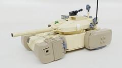 HT-122 Golem (Sunder_59) Tags: lego moc render blender3d mecabricks tank vehicle military scifi future transport hovertank
