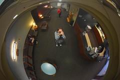 Gratuitous = free, unwarranted (paulrosemeyer) Tags: selfie selfportrait reflection waitingroom rosemeyer doctorsoffice public indoor