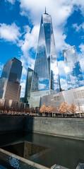 One World Trade Center Building And Reflecting Pool; New York, New York (hogophotoNY) Tags: thebigapple neverforget reflectingpool memorial building skyscraper eastcoast unitedstates usa newyorkstate newyorkcity manhattan oneworldtrade hogophoto