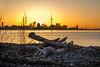Love you, Toronto ❤️ (Paul Flynn (Toronto)) Tags: sunrise toronto cityscape beauty sun city skyline driftwood beach lake ontario water reflection cntower harbour orange glow