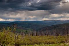 Storming in High Country (Dan King Alaskan Photography) Tags: highcountry scenic storm rain view alaska interioralaska canon80d sigma2470mm