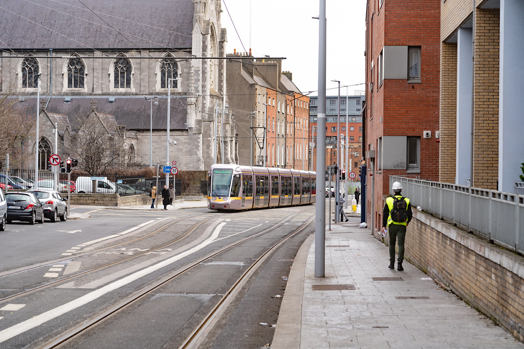 DOMINICK STREET DUBLIN [TRAMS AND TRACKS]-137850
