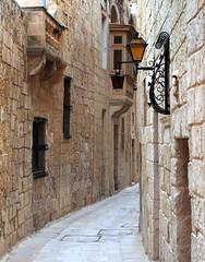 Beautiful alley on Malta (RJAB2012) Tags: malta 100v10f
