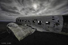 The legendary DC 3 wreck III (Dani Maier) Tags: suðurland island is dc3 airplane wreck beach iceland crash abandoned wreckage