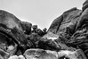 Balanced (nateabrown) Tags: joshuatree desert cali california ilford iso400 blackandwhite grain landscape palmsprings rock geology minolta