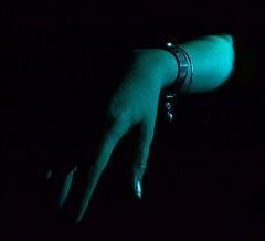 (josie.bell) Tags: blue black lighting fingers