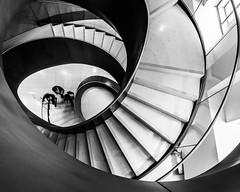 London   |   Wellcome Twist (JB_1984) Tags: spiral stairs staircase steps wellcomecollection museum blackandwhite bw mono urban euston bloomsbury london londonboroughofcamden england uk unitedkingdom nikon d500 nikond500