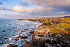 Galizia (franco nadalin) Tags: rosso sea coast sky sunset rocks cliffs galicia spain costa do morte travel vacation ocean atlantic nature landscape view panorama