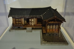 London, England, UK - British Museum - Korea - Model House, c 1900 (jrozwado) Tags: europe uk unitedkingdom england london museum britishmuseum history culture anthropology korea model house ethnography