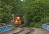Leaving Norwood (GLC 392) Tags: norwood oh ohio trees cnry cincinatti emd gp30 passenger train nkp nickle plate road railroad railway rain reflection lebanon mason lmm 901 monroe