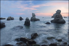 Atardecer (antoniocamero21) Tags: atardecer color foto sony frare playa lloret girona catalunya